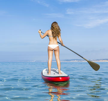 Outdoor Workout  Does SUP Really Count As a Workout?