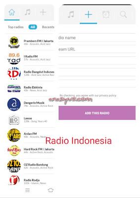 Radio Indonesia (by Online radios)