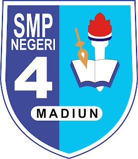 logo smp negeri 4 madiun