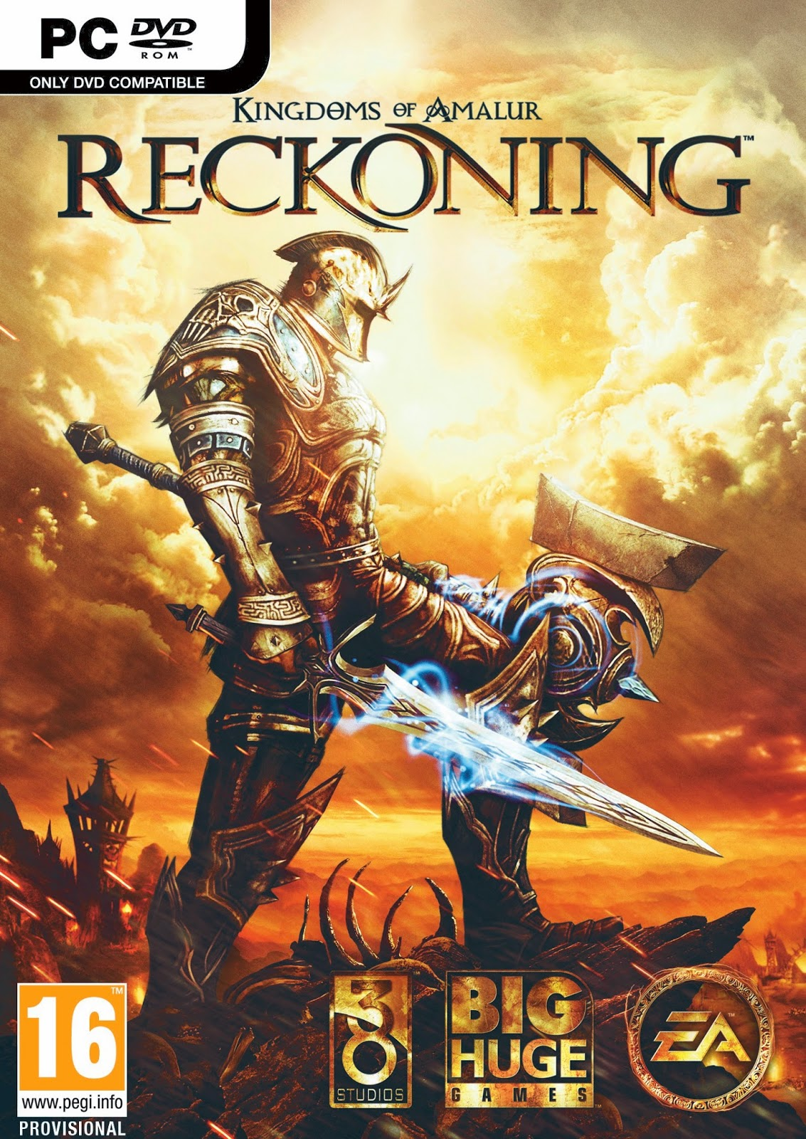 Cover Caratula Kingdoms of Amalur Reckoning PC