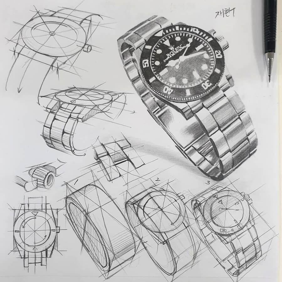08-Wrist-watch-anjjaemi-www-designstack-co