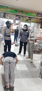 Operasi Yustisi, Polres Pelabuhan Berikan Sanksi Pada Warga Tidak Menggunakan Masker