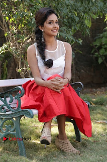 Actress Mahima Nambiar Latest Stills in White Top and Red Skirt at Kuttram 23 Movie Press Meet  0036.jpg