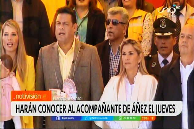 Alcalde Revilla asegura que hasta el jueves se definirá quien será el acompañante de la presidenta Áñez