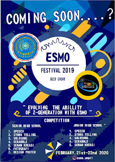 Coming Soon Esmo Festival 2019 Best Even Universitas Muhammadiyah Pringsewu