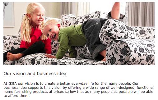 Mục tiêu hàng đầu của thương hiệu IKEA nhấn mạnh vào sự sẵn lòng (Ảnh: Internet)