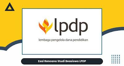 rencana studi Beasiswa LPDP