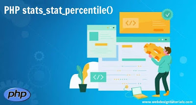 PHP stats_stat_percentile() Function