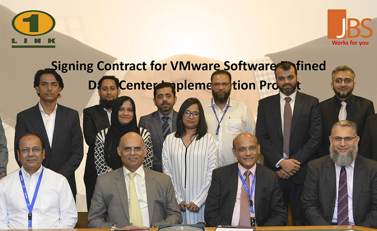 Jaffer Business Systems & 1LINK Sign Contract for VMware Based SDDC
