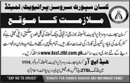 Jobs in ZTBL Kissan Support Services Pvt Limited
