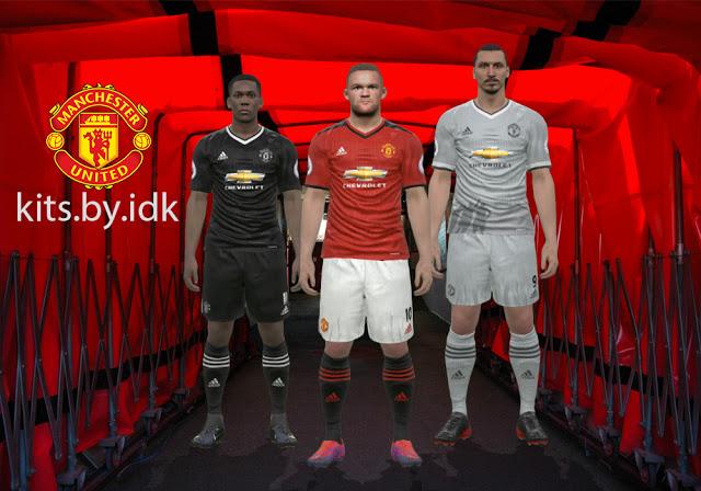 a6f9e39e682 ultigamerz  PES 2017 Manchester United 2017-18 Fantasy Kits