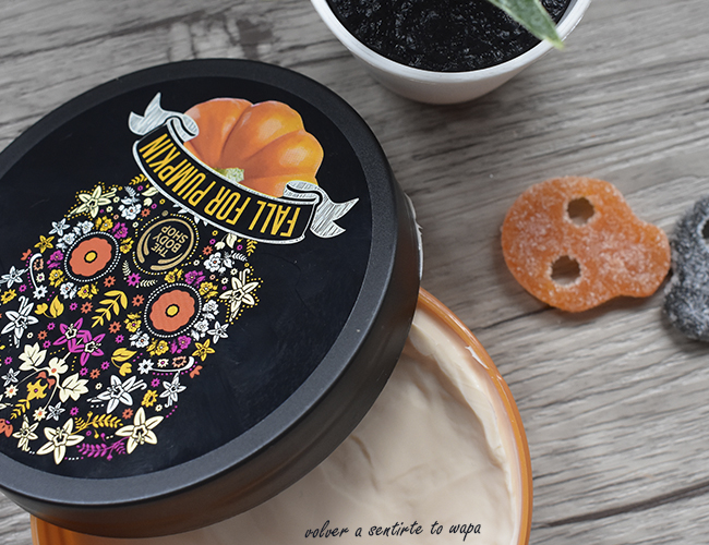 Gama de Calabaza y Vainilla de The Body Shop