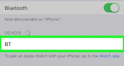 Cara Menghubungkan Headphone Bluethooth di iPhone atau iPad 4