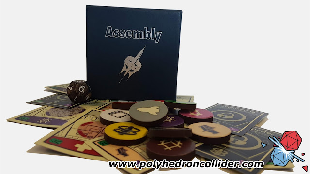 Polyhedron Collider Assembly Review - Display Image