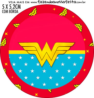 photograph relating to Wonder Woman Printable Logo known as Surprise Female Afro No cost Printable Cupcake Wrappers and