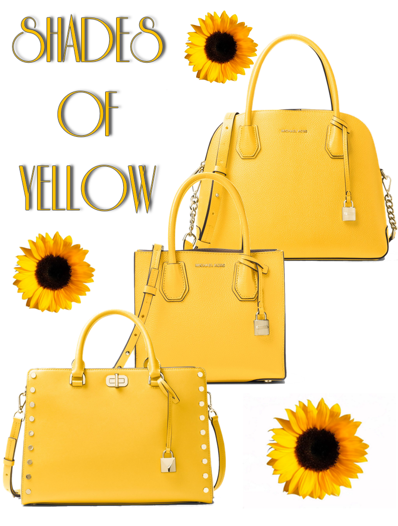 MICHAEL Michael Kors Assorted Yellow Bags