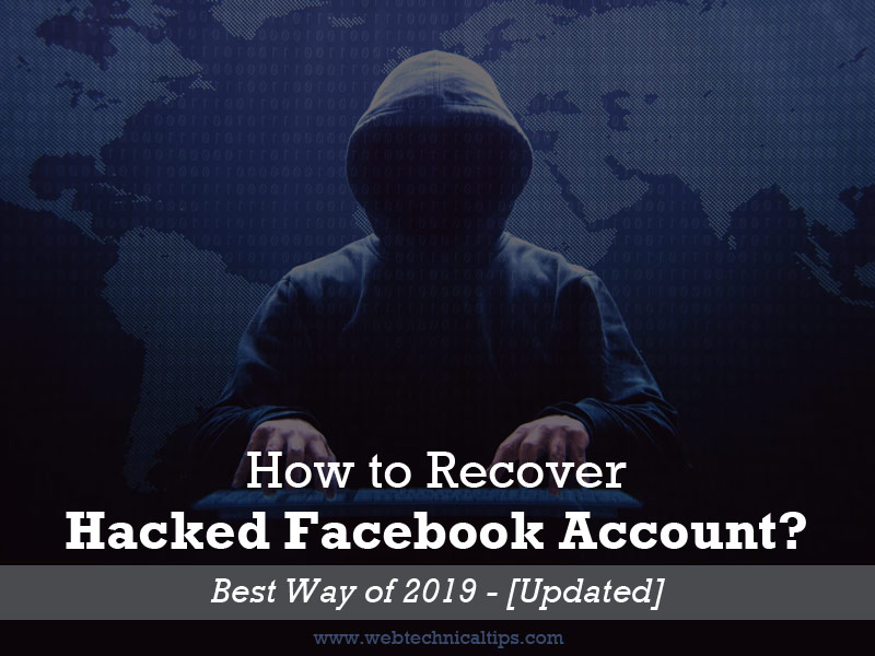 how to recover facebook hacked account - Best way of 2019