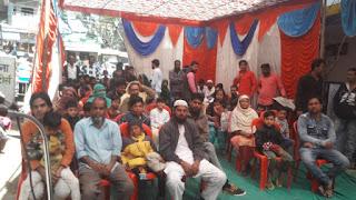 कलंदर फाउंडेशन की जानिब से मरहूम अंसार महाराज की याद में दो दिन का फ्री सुन्नत कैम्प आयोजित किया
