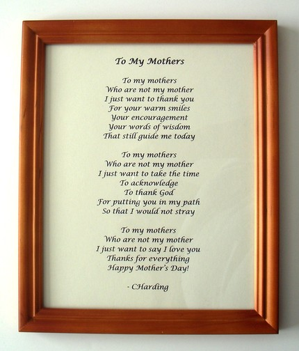 Poems About Mothers