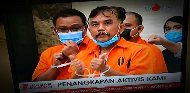 Syahganda Dkk Ditahan, Aktivis Haris Rusly: Sakit Dan Perih Rasanya Menyaksikan Sahabat Diborgol