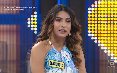Emanuela Marsili figlia campione pugilato emilio Marsili Avanti Un Altro 28 aprile