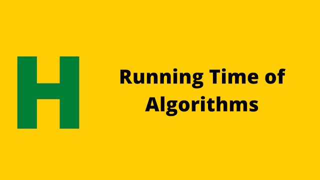 HackerRank Running Time of Algorithms problem solution