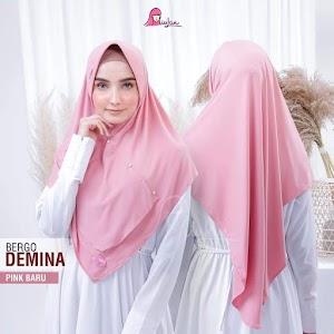 Jilbab Miulan Bergo Demina Simple dan Tetap Syari