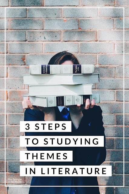Read all about the 3 things I do to help struggling students experience more success with studying themes in literature.