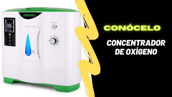 Concentrador Oxígeno Dedakj 2021 De 9 Litros