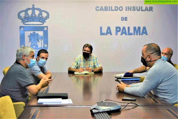 El Cabildo colabora con ACILPA en impulsar el cultivo del café en La Palma