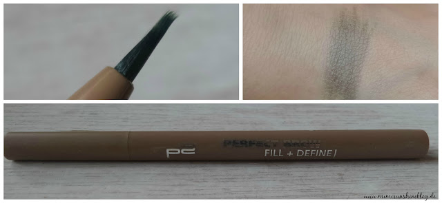 "p2 Perfect Brow Fill + Define Slim Liner ""020 nude brunette"""