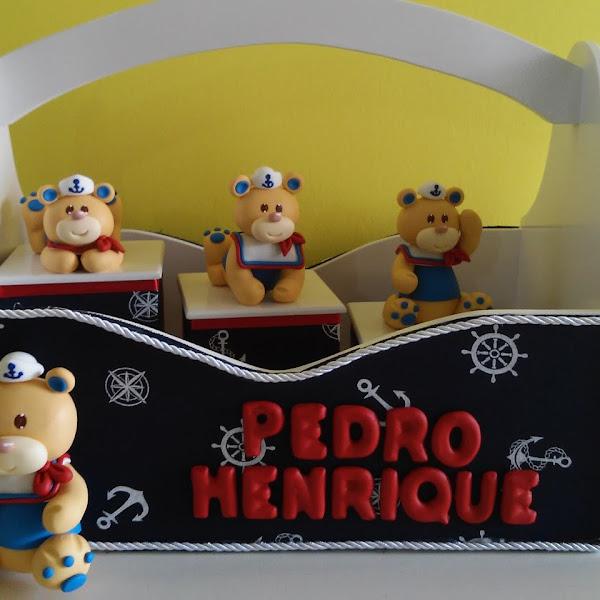Kit Higiene de Urso Marinheiro