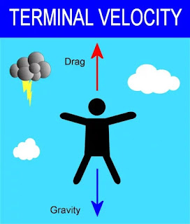The concept of TERMINAL VELOCITY explained//