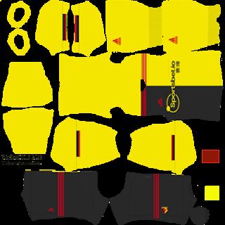 Watford United 2019/2020 Kit Dream League Soccer 2020