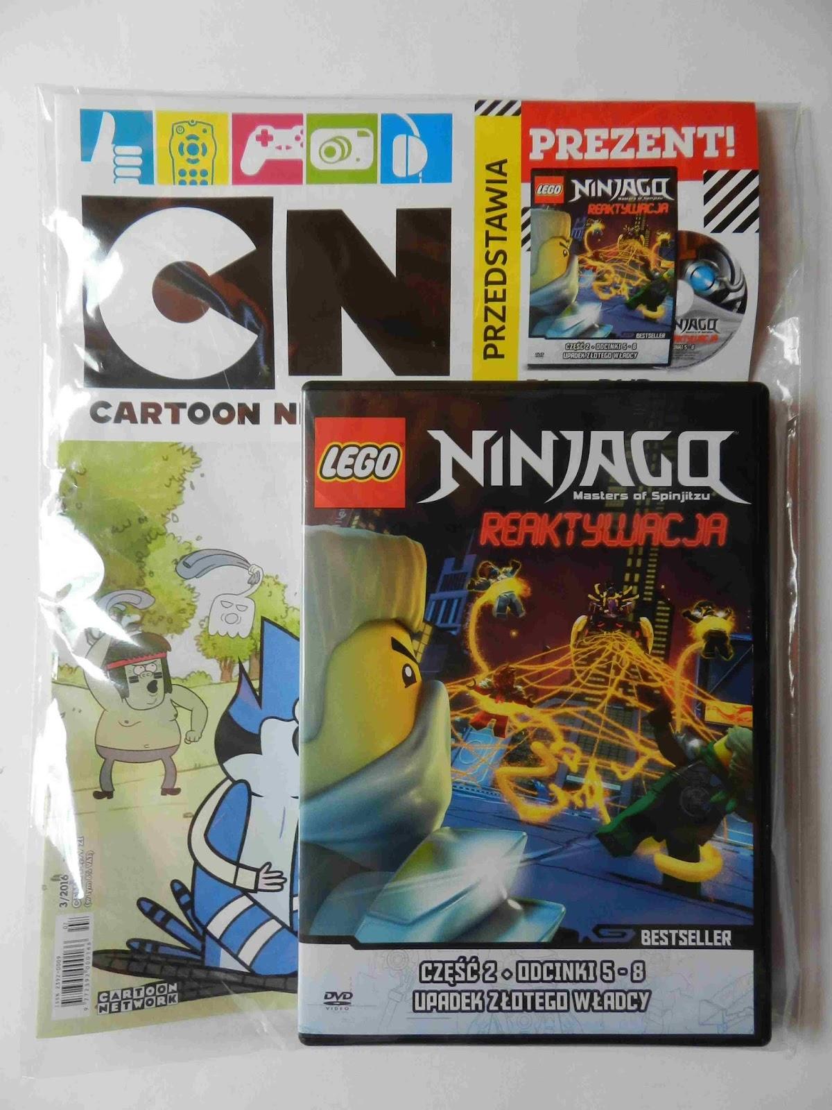 Lego Ninjago Reaktywacja Cz 2 Dvd Dodatki W Kiosku 2 Sklepy