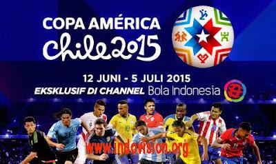 Copa America 2015 Tayang di K Vision
