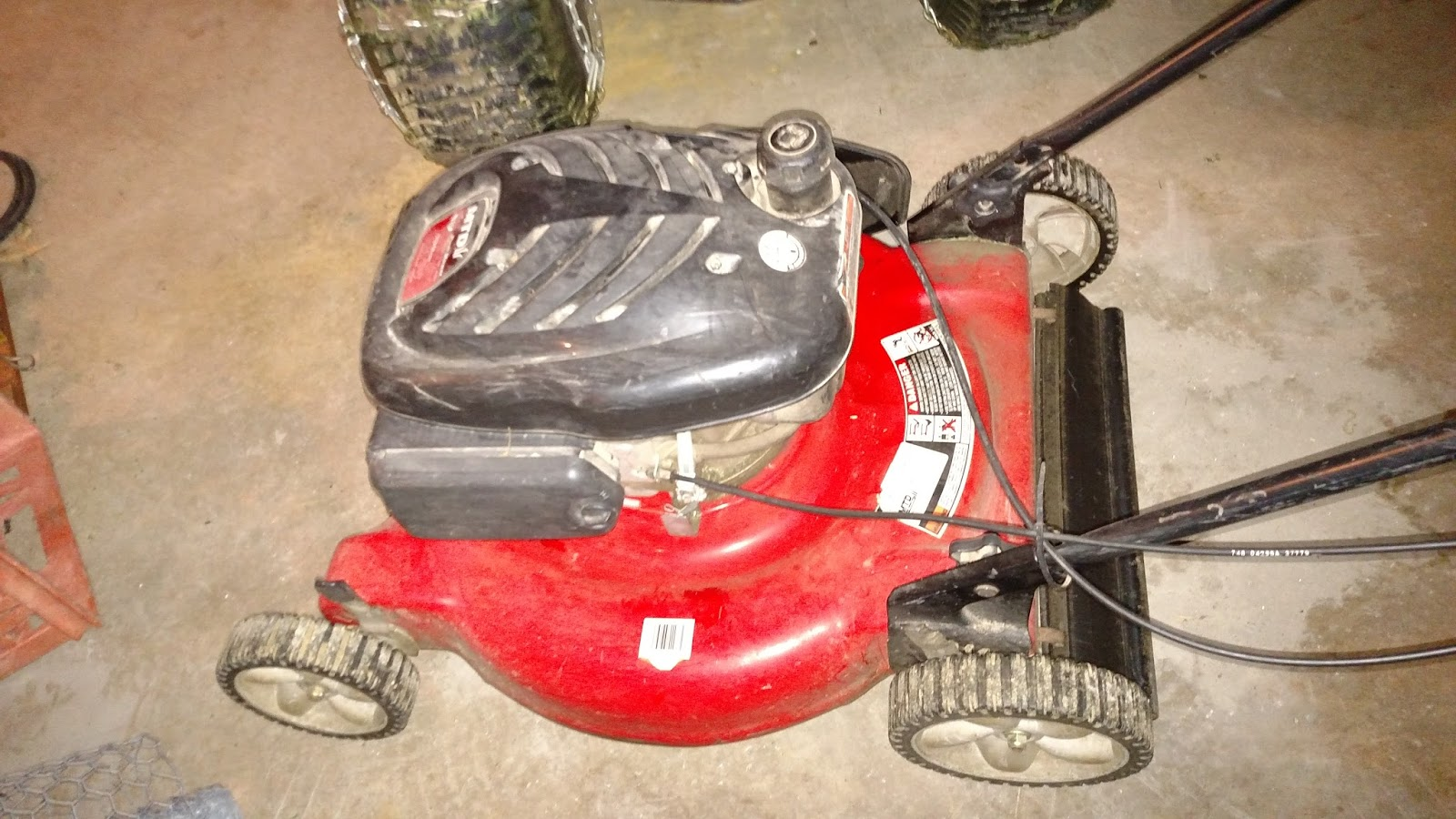 hight resolution of i replaced my broken gas mower with a cordless electric mower