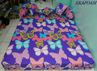 Sofa bed inoac 2017 PURPLE BUTTERFLY