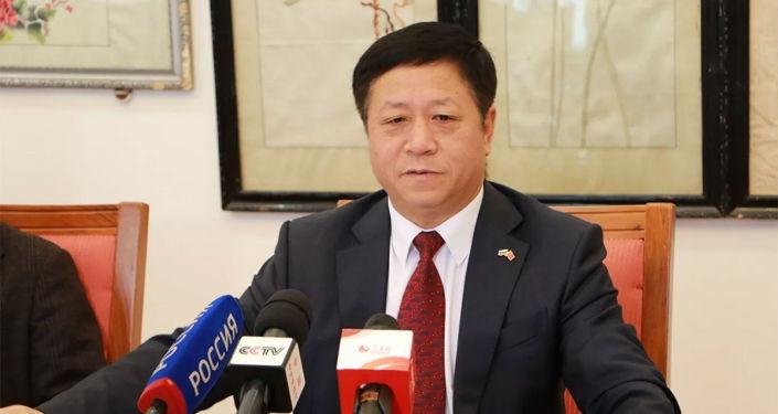 Chinese Ambassador to Russia Zhang Hanhui. Photo: Sputnik