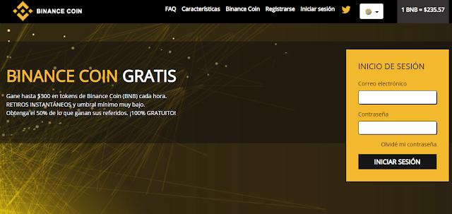 ▷ FreeBinanceCoin | Aprovecha y gana BNB Gratis 🚀