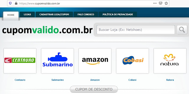https://www.cupomvalido.com.br/