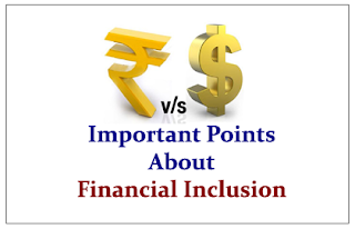 Important Points to know about Financial Inclusion