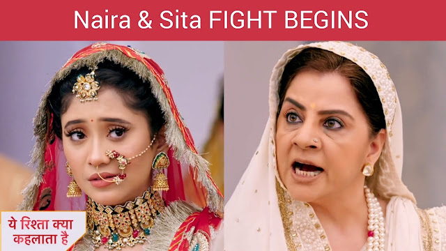 High Voltage Drama : Sita and Naira's ugly past to cost Goenkas in hell like situation in YRKKH