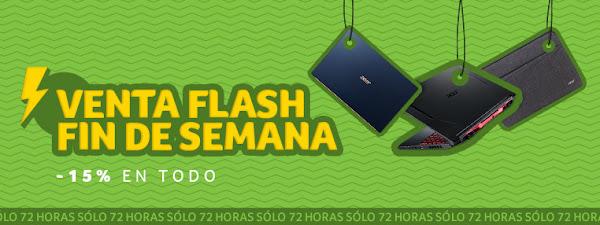 Mejores 5 ofertas Venta Flash de la Acer Store