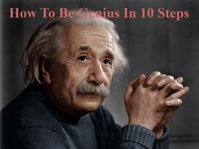 How To Be Genius In 10 Steps