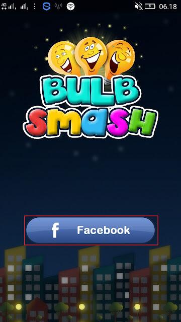 cara daftar di game bulb smash