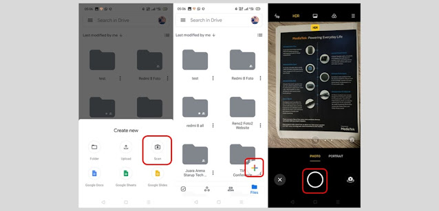 Cara Scan Dokumen melalui HP Android