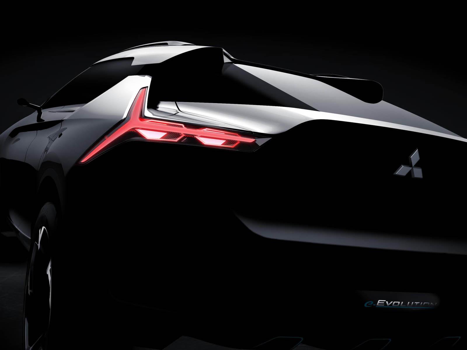 نتيجة بحث الصور عن Mitsubishi e-Evolution Concept 2019