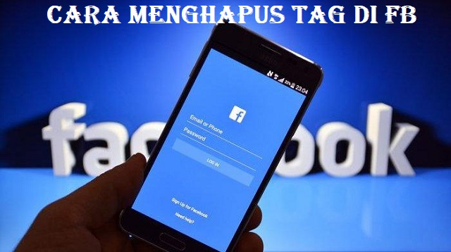Cara Menghapus Tag di FB