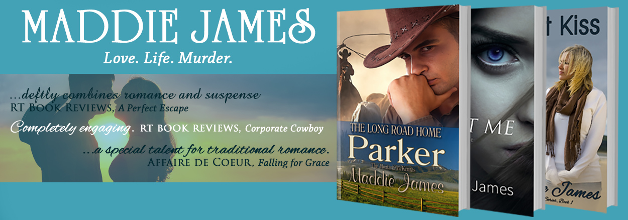 Maddie James Books - Official Site
